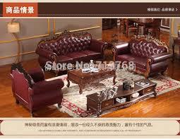 Leather Sofa Seat Royal Furniture Classic Genuine Leather Sofa With 3 2 1 Seat