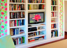 shelving remarkable tv bookcase unit bookshelf tv stand combo