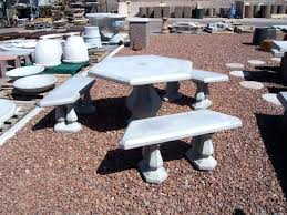 Cement Patio Table Cement Patio Furniture Cement Patio Set Shanni Me