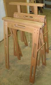 if you need to use a sawhorse sometimes but are limited on space