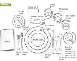 place settings formal dining setting sure beats the b and d with my