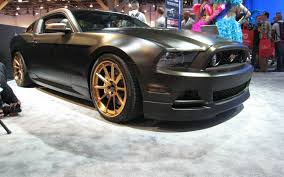 Mustang 2013 Black 2013 Ford Mustang Gt High Gear Concept Muscle Cars Zone