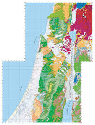 Map Of Israel In Jesus Time Geology Of Israel In The Biblical Framework 2 The Flood Rocks
