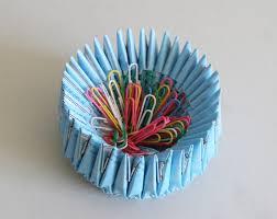 Origami Desk Organizer Origami Origami Desk Organizer Or Snack Dish For School Or
