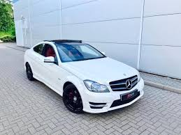 mercedes c220 cdi amg sport 2011 61 mercedes c220 cdi amg sport coupe white leather