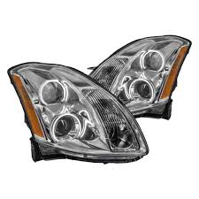 nissan headlights oracle lighting nissan maxima without factory hid xenon