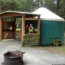 Permanent Tent Cabins Pacific Northwest Cabins And Yurts 5 Family Favorites