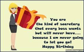 birthday wishes for secretary u2013 wishesmessages com