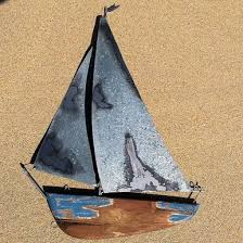 wooden boat wall large distressed boat wall plaque rustic disrtessed wooden