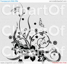 royalty free vector clip illustration of a black and white