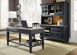 desk small black desk with drawers solid wood desk with hutch