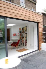 rear elevation of a flat glass extension google search
