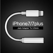 apple lighting to headphone apple iphone 7 earphone headphone converter adapter iphone 7 6s 5se