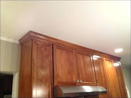 installing crown molding on cabinets cabinet trim ideas large size of crown molding how to install crown