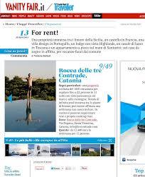 Vanity Fair On Line Featured In The Press 2013 Rocca Delle Tre Contrade