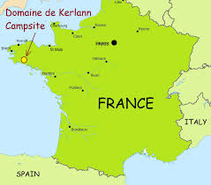 Orleans France Map by Best French Campsites Domaine De Kerlann Campsite