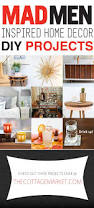 mad men inspired home decor diy projects mad men mad and diy