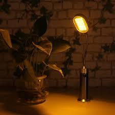 amber led book light new mini led light white yellow changeable book light flexible