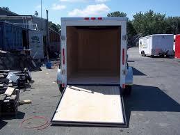 enclosed trailer exterior lights 2017 bravo trailers 5x10sc sa v ld ramp app white enclosed cargo