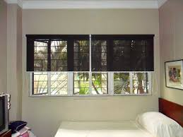 Blackout Blinds Installation Blackout And Sunscreen Roller Blinds Which Is Ideal For Bedroom
