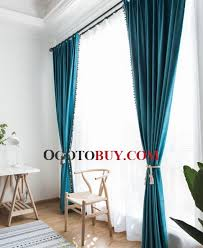 Turquoise Blackout Curtains Peacock Blue Turquoise Blackout Curtains Light Blocking Buy Blue