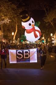 friday night lights santa barbara downtown holiday parade downtown santa barbara
