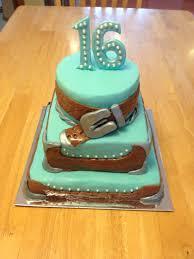 sweet 16 western themed cake dorinda u0027s cake design pinterest