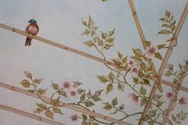 soffitti dipinti soffitto dipinto pergolato in cucina