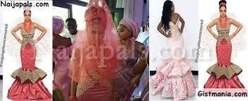 wedding dress maker baad2017 adesua etomi s wedding dress maker accused of stealing