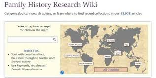 A Place Wiki Family History Research Wiki
