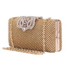 bettwã sche afrika design baigio rhinestone cocktail clutch evening bag bridal