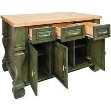 jeffrey alexander tuscan kitchen island in aqua green isl01 aqu