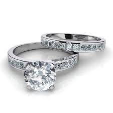 engagement rings and wedding band sets 15 best ideas of interlocking engagement rings wedding band