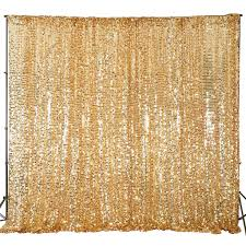 gold backdrop 20ft x 10ft gold big payette sequin backdrop curtain for photo