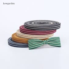 cloth ribbon kewgarden 10mm 1cm stripe cotton velvet layering cloth ribbons diy
