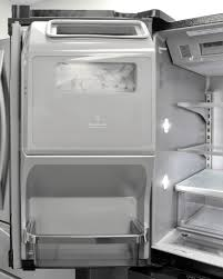 black friday deals at home depot ice makers kitchenaid krmf706ebs refrigerator review reviewed com refrigerators