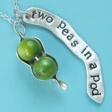Two Peas In A Pod Jewelry Rachael Sudlow Jewelry Necklaces