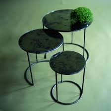 black nest of tables tags marvelous round nesting coffee table