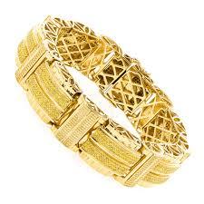 jewelry man gold bracelet images Hip hop jewelry mens yellow diamond bracelet in sterling silver jpg