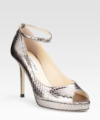 officia officia website christmas day jimmy choo silver leather peep toe