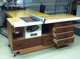 how to build a table saw workstation homemade table saw workstation homemadetools net