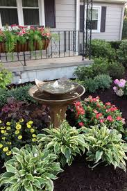 how to landscape a small front tropical garden landscaping floral