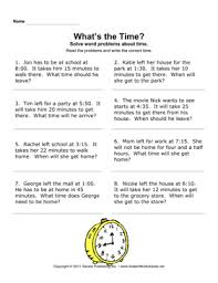 free worksheets time elapsed worksheets for 3rd grade free
