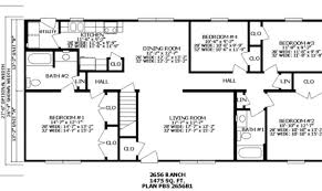 split level homes floor plans inspiring back split level house plans photo house plans 88297