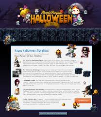 event halloween 2017 mapleroyals