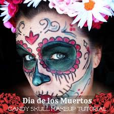 Halloween Makeup Dia De Los Muertos Last Minute Halloween Costume Day Of The Dead Makeup Mommy