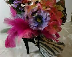 high heel shoe centerpiece set wedding centerpieces shoe