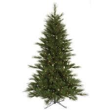 7 5 pre lit scotch pine artificial tree clear lights