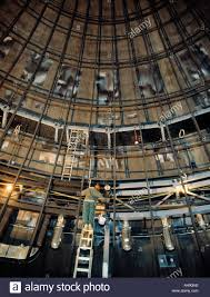 construction worker working inside dome at