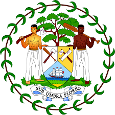 Belize Flag File Coat Of Arms Of Belize Svg Wikimedia Commons
